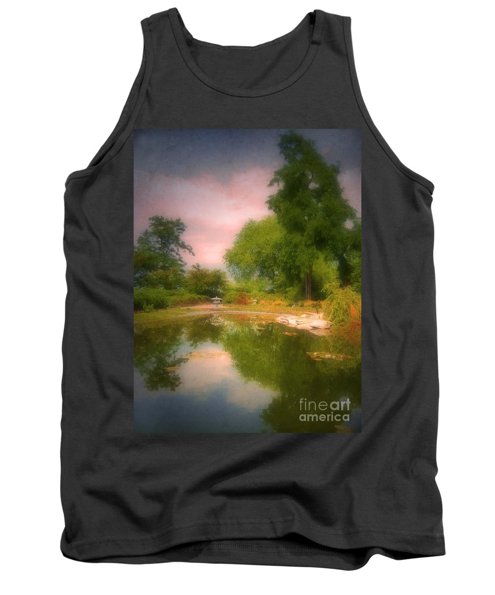 Gardens Tank Top featuring the photograph August In The Gardens by Tara Turner