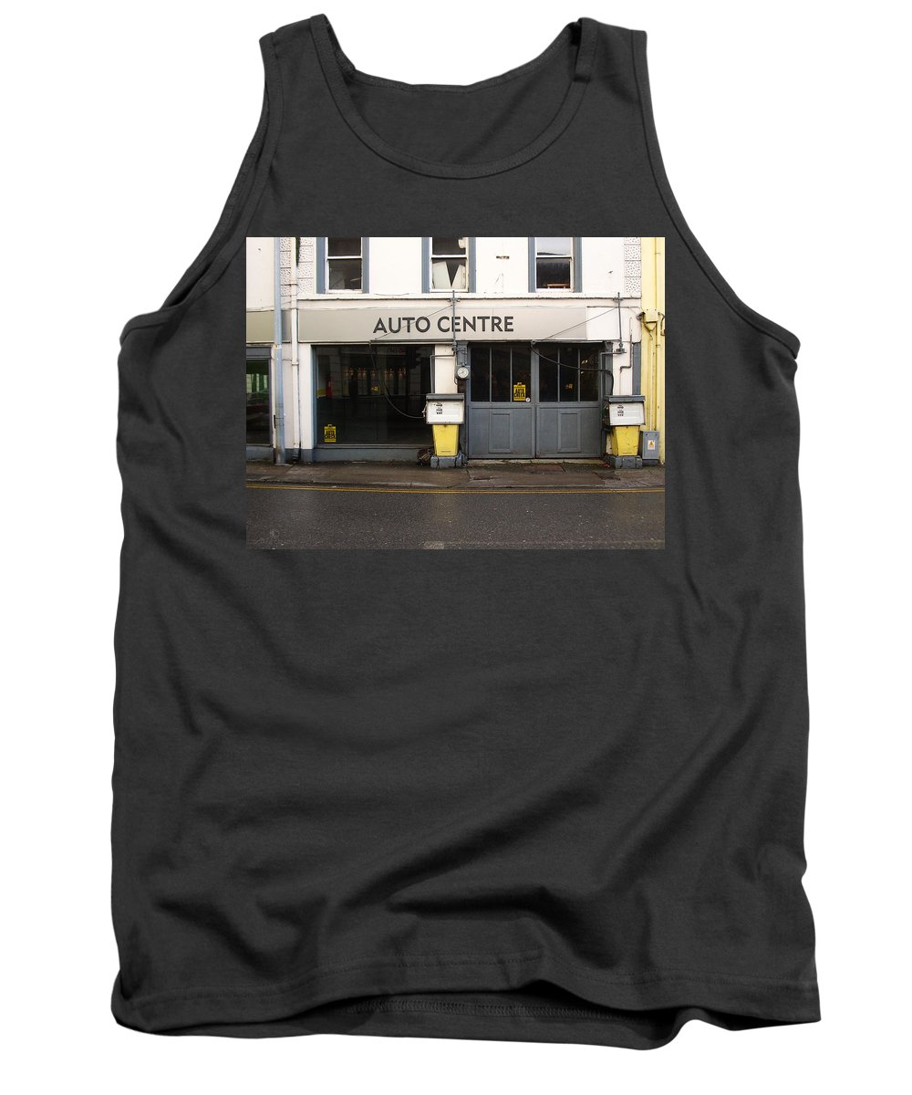 Auto Tank Top featuring the photograph Auto Centre by Tim Nyberg