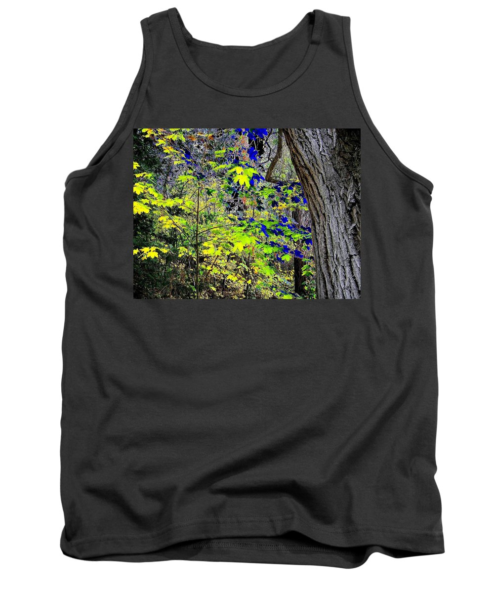 Surreal Tank Top featuring the photograph Autumn Blue by Will Borden