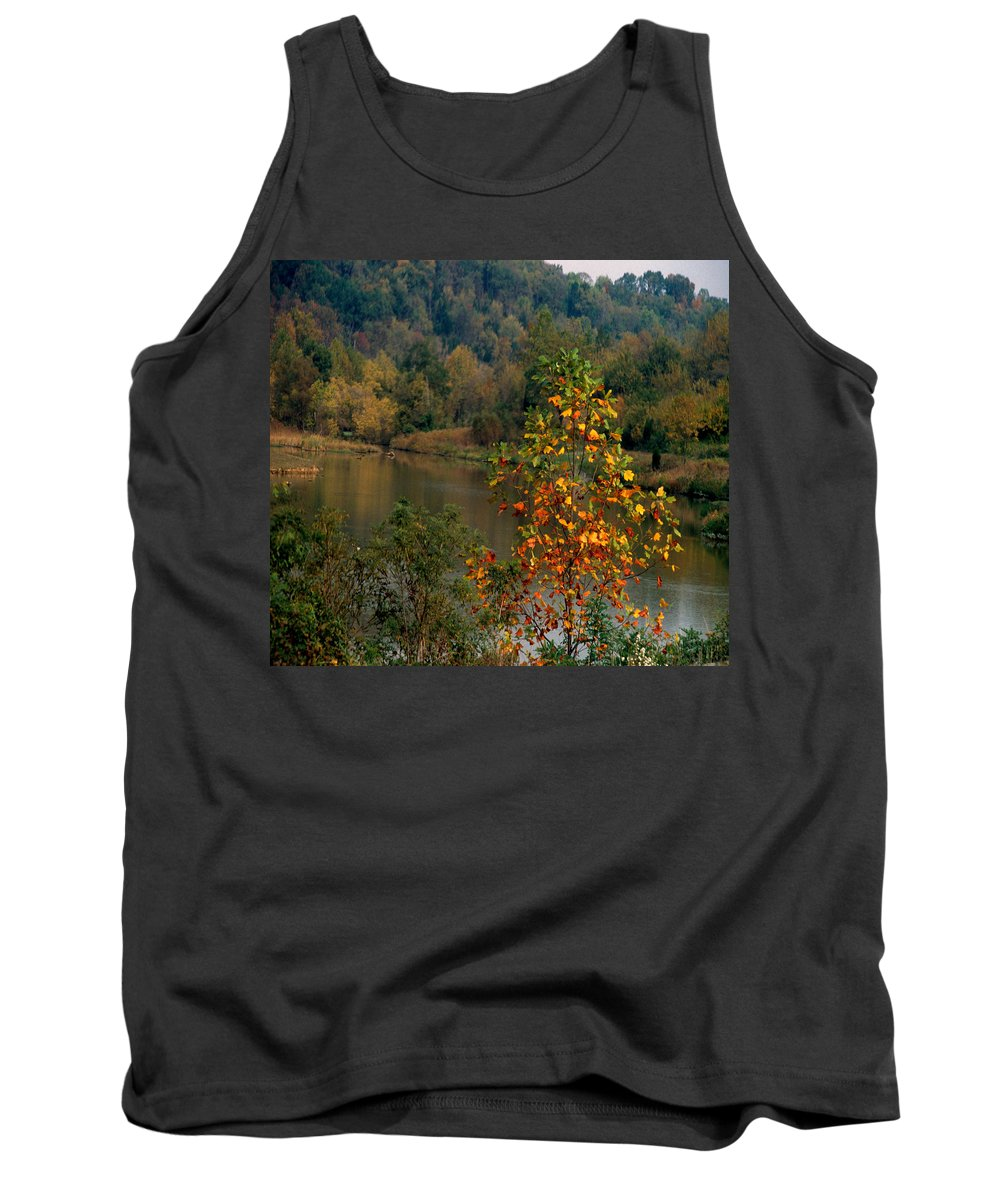 Fall Colors Tank Top featuring the photograph Autumn Colors by Gary Wonning