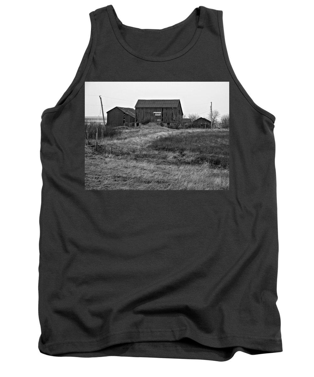 Farm Tank Top featuring the photograph Awaiting Winter by Steve Harrington