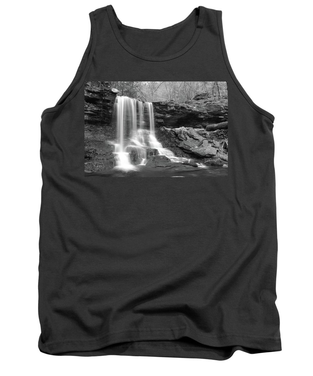 Phil Levee Tank Top featuring the photograph B Reynolds Falls by Philip LeVee