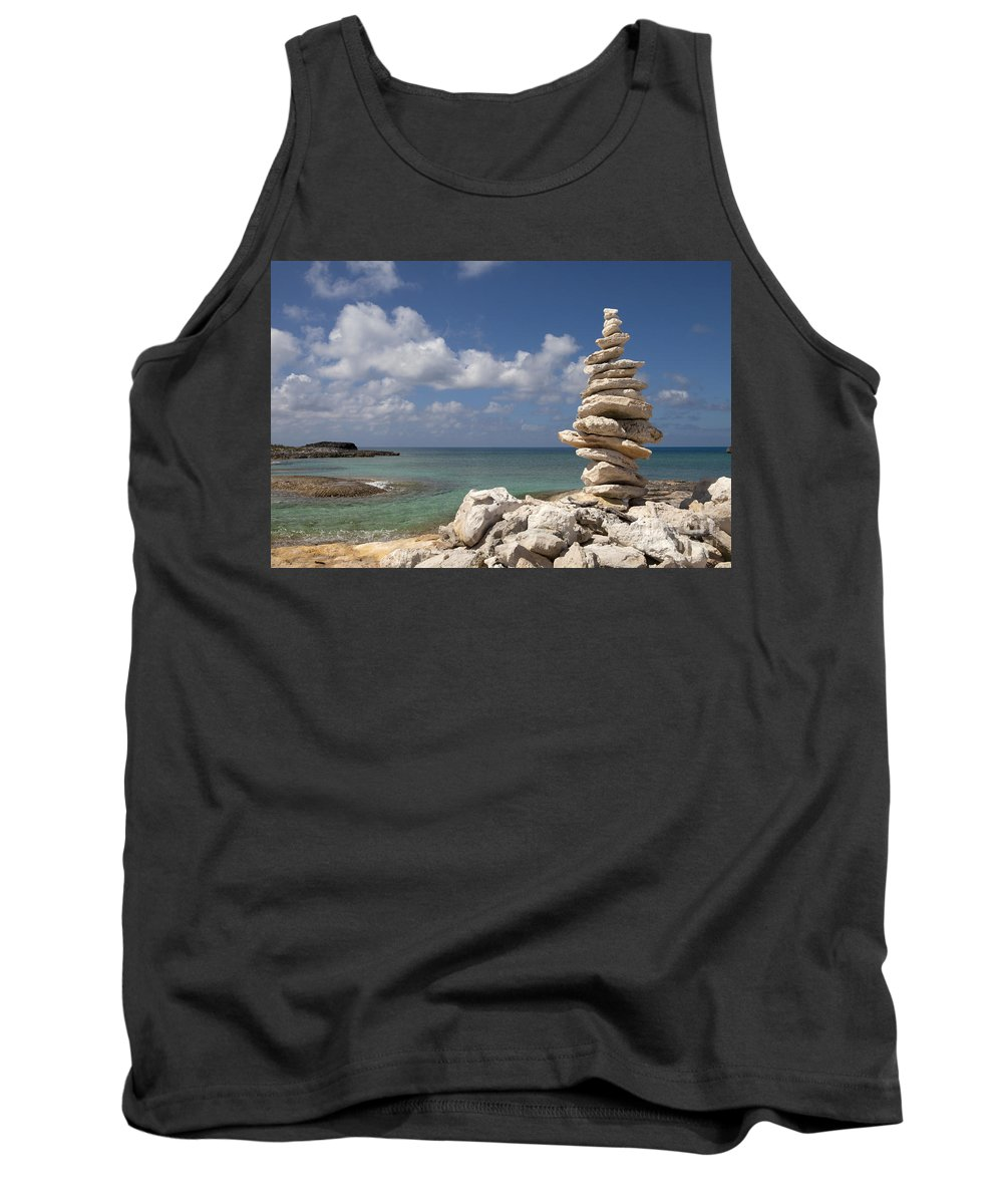 Arrangement Tank Top featuring the photograph Balance by Anthony Totah