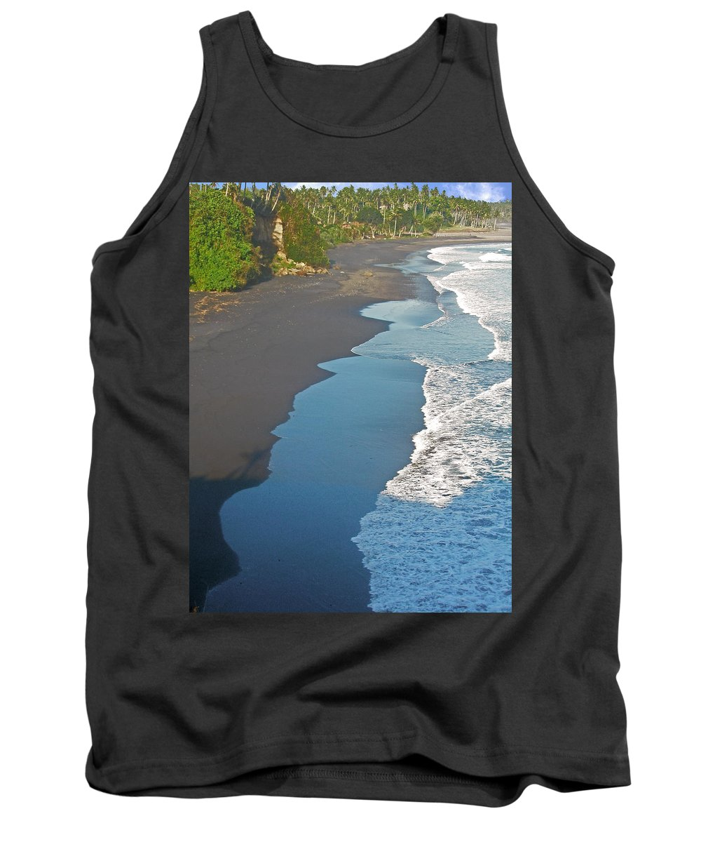 Bali Tank Top featuring the photograph Bali Western Shore by Mark Sellers