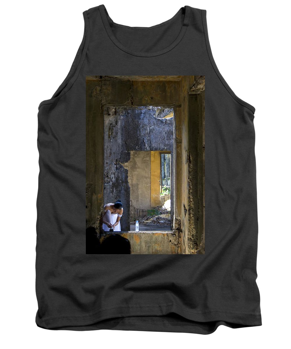 Ballet Dancer Tank Top featuring the photograph Ballet Dancer8 by George Cabig