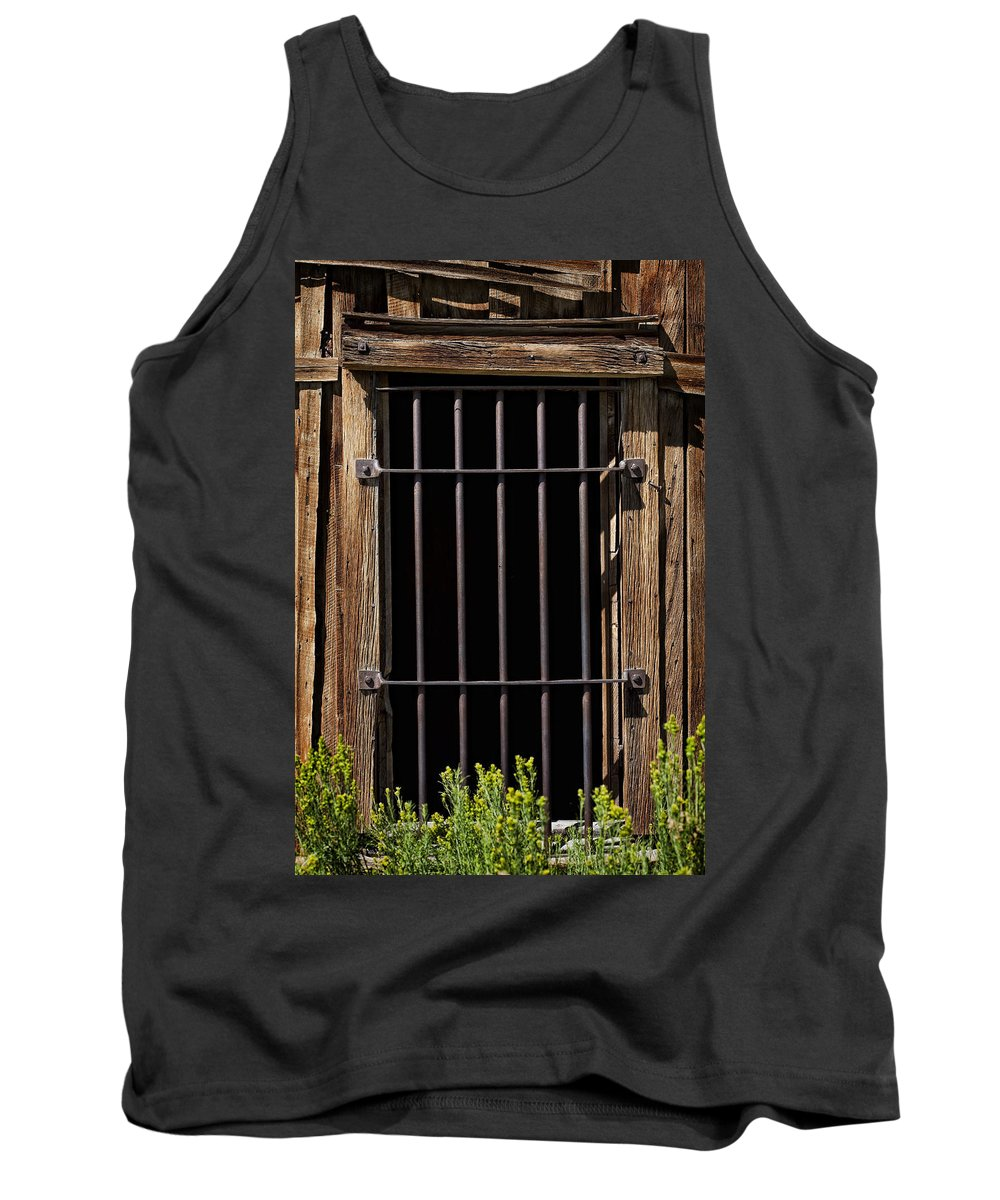 Jail Tank Top featuring the photograph Barred by Kelley King