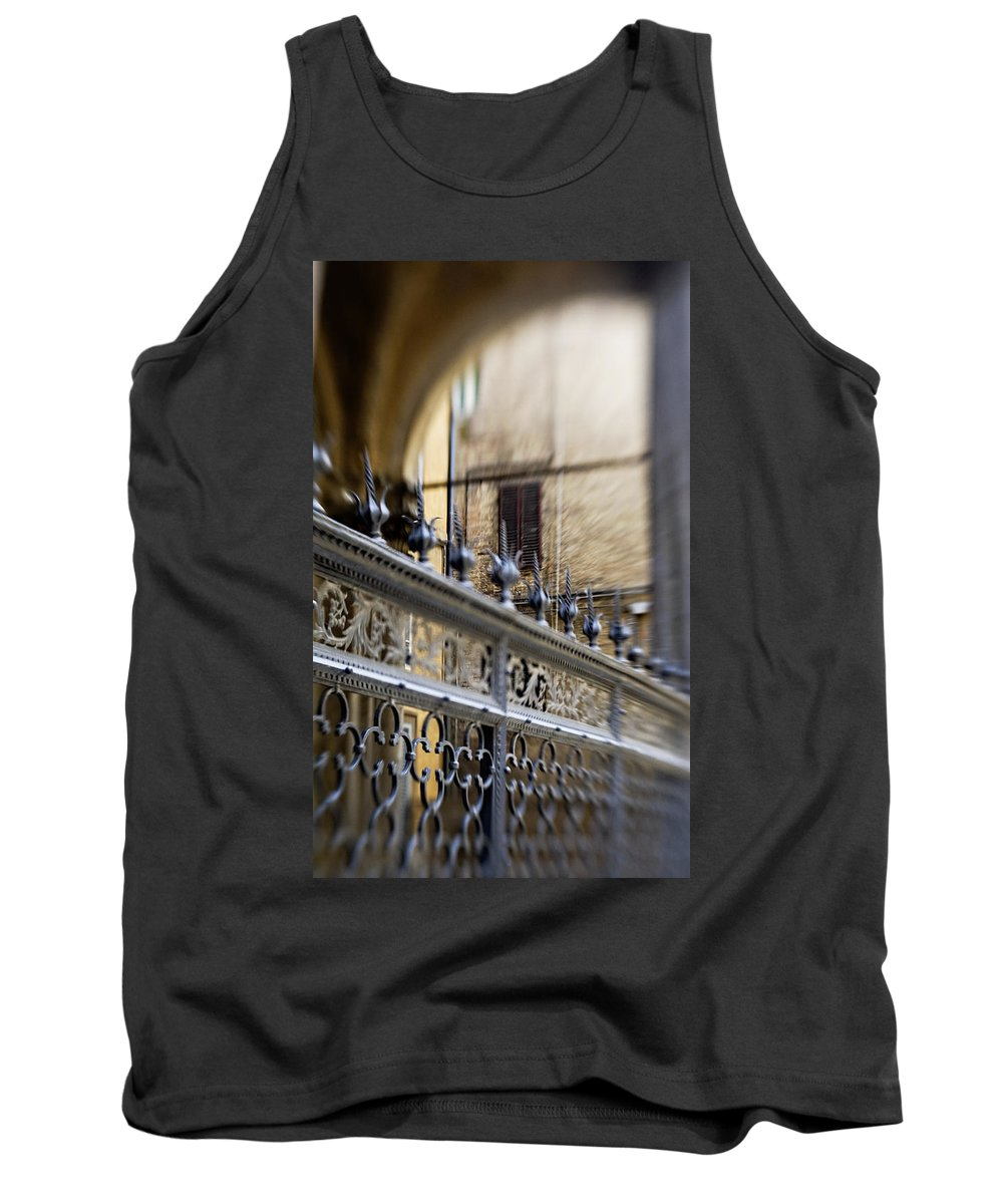 Beautiful Tank Top featuring the photograph Barriers And Openings by Marilyn Hunt