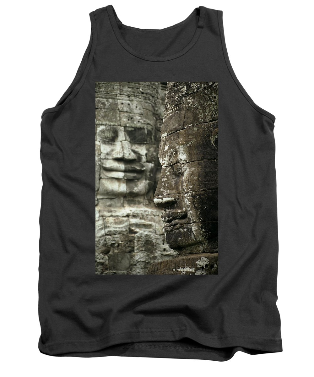 Bayon Tank Top featuring the photograph Bayonii by Patrick Klauss
