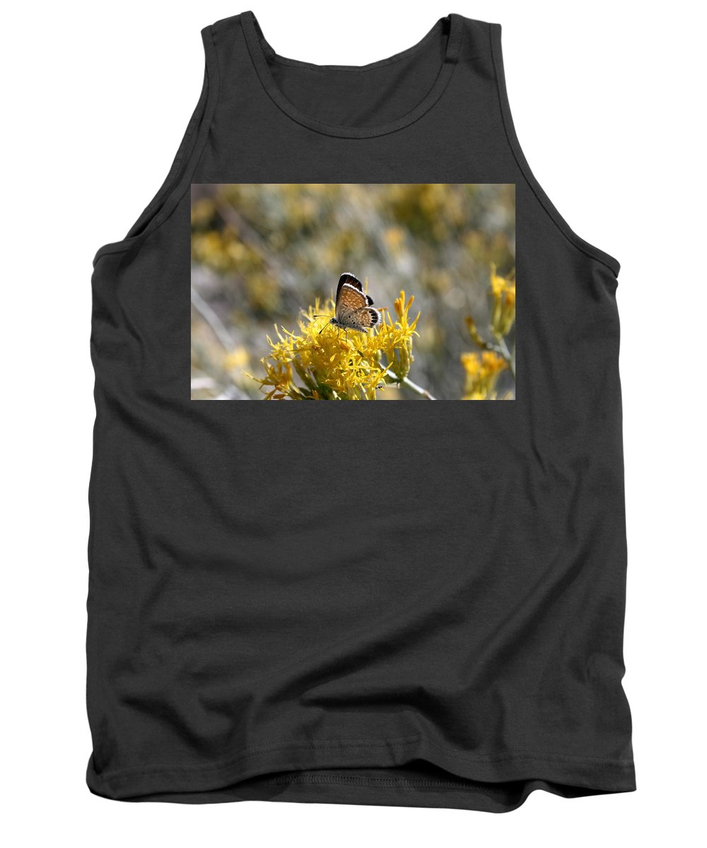 Butterfly Tank Top featuring the photograph Bea-u-ti-ful Butterfly by Erin Rosenblum