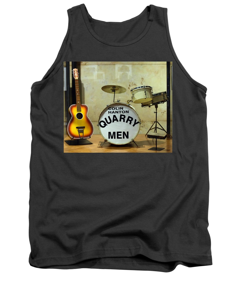 The Beatles Tank Top featuring the photograph Beatles History by Joseph C Santos
