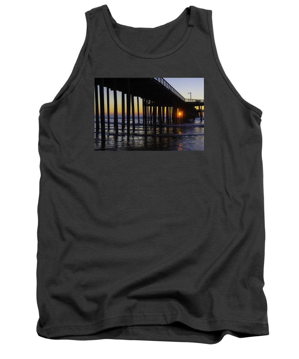 Pismo Beach Tank Top featuring the photograph Beautiful Pismo Beach Sunset by Garry Gay