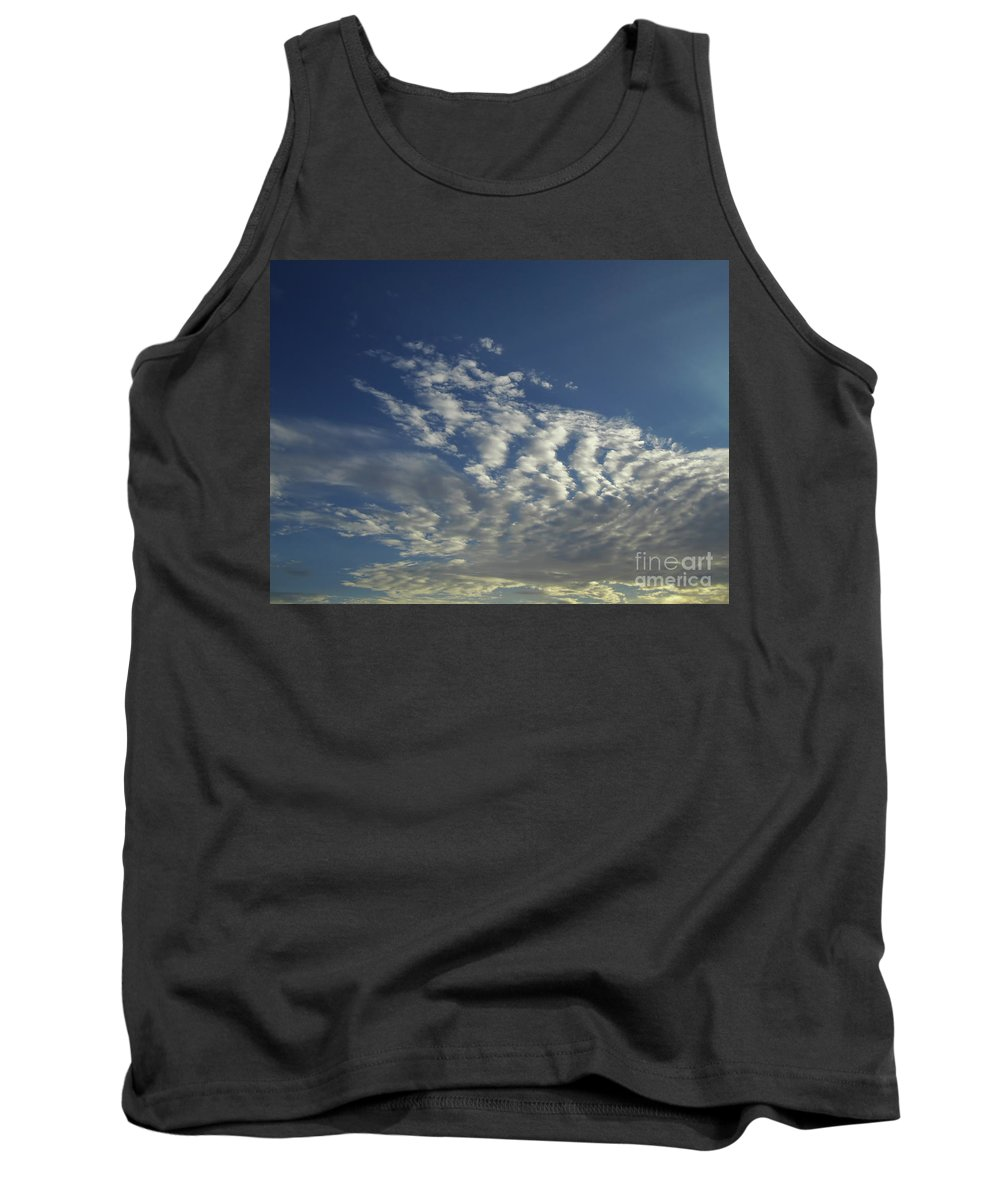 Sky Tank Top featuring the photograph Beauty In The Clouds by D Hackett