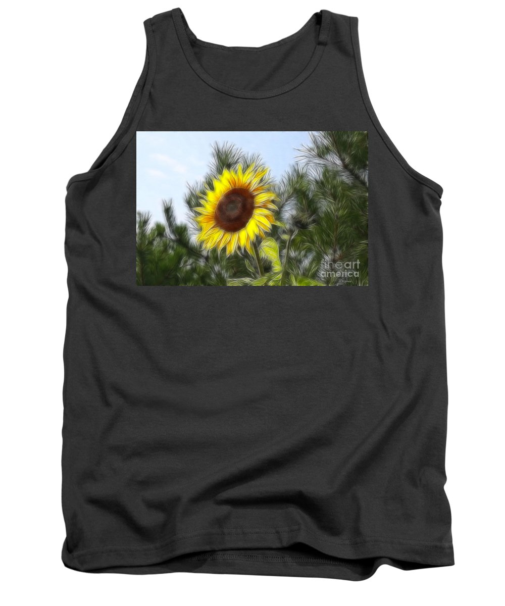 Fratalius Tank Top featuring the photograph Beauty In The Pines by Deborah Benoit