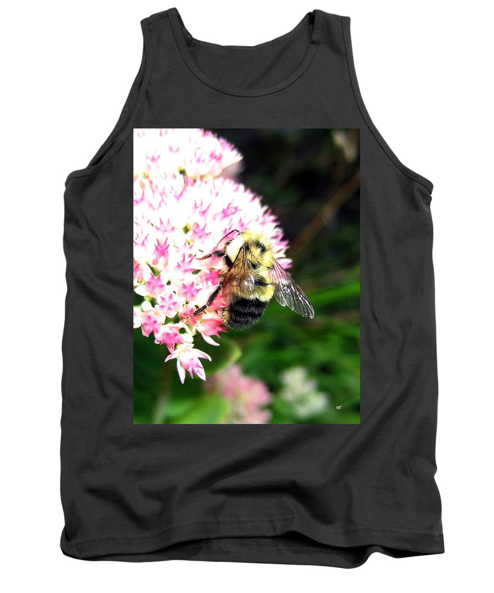 Bee Tank Top featuring the photograph Bee-line 2 by Will Borden