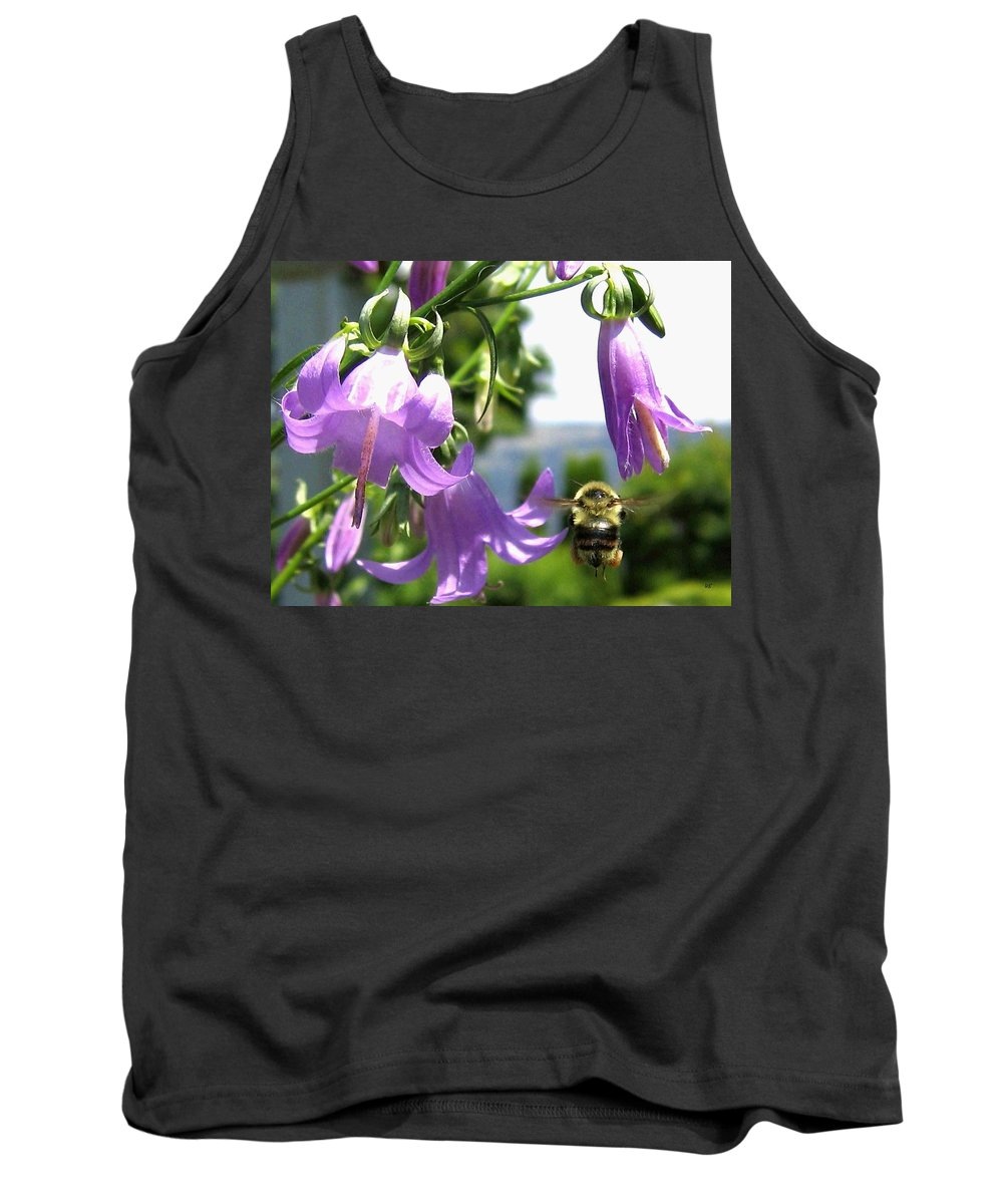 Bee Tank Top featuring the photograph Bee-line 5 by Will Borden