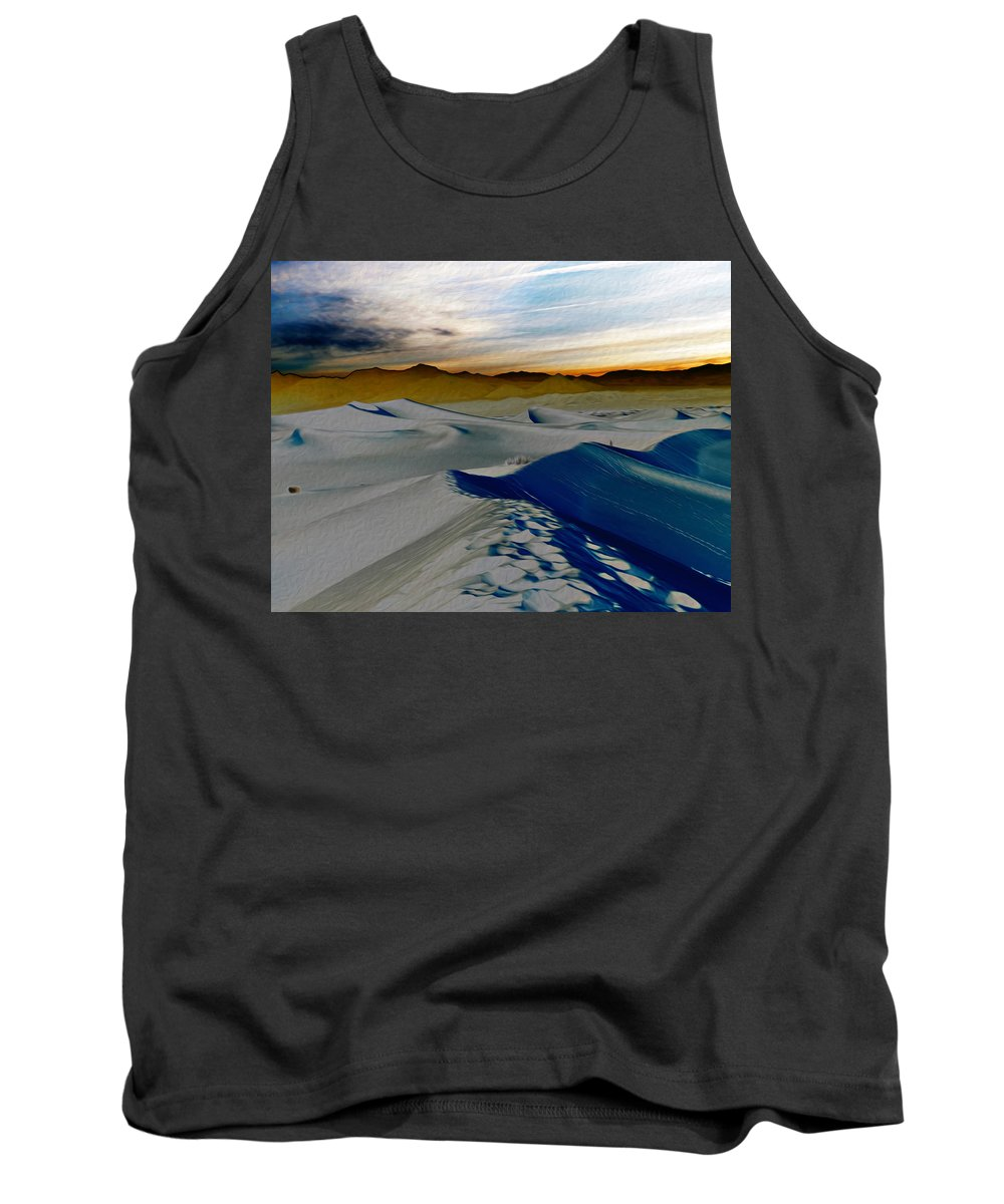Death Valley Tank Top featuring the photograph Been Through The Desert by Joe Schofield