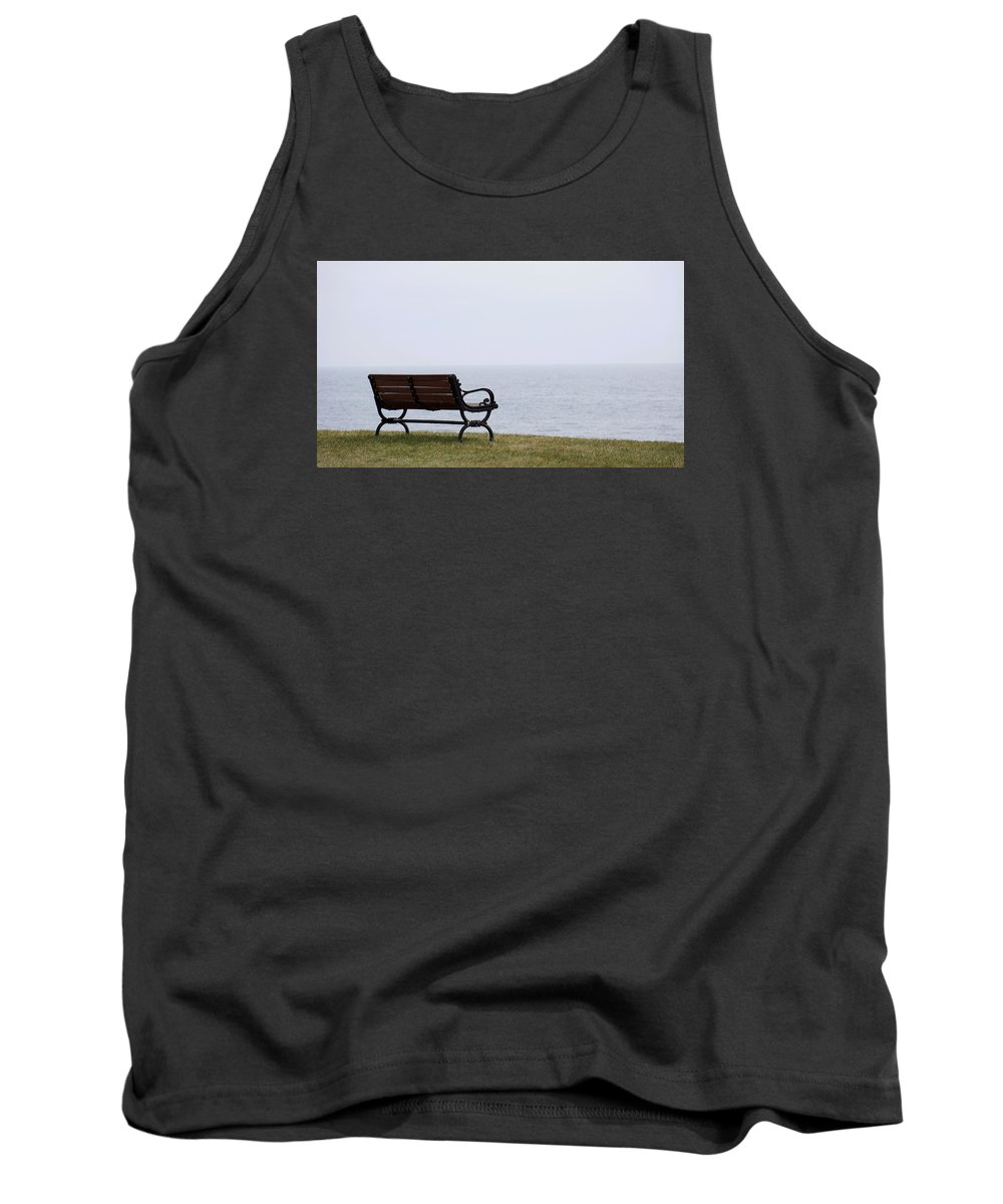 Bench Tank Top featuring the photograph Bench by Brooke Bowdren