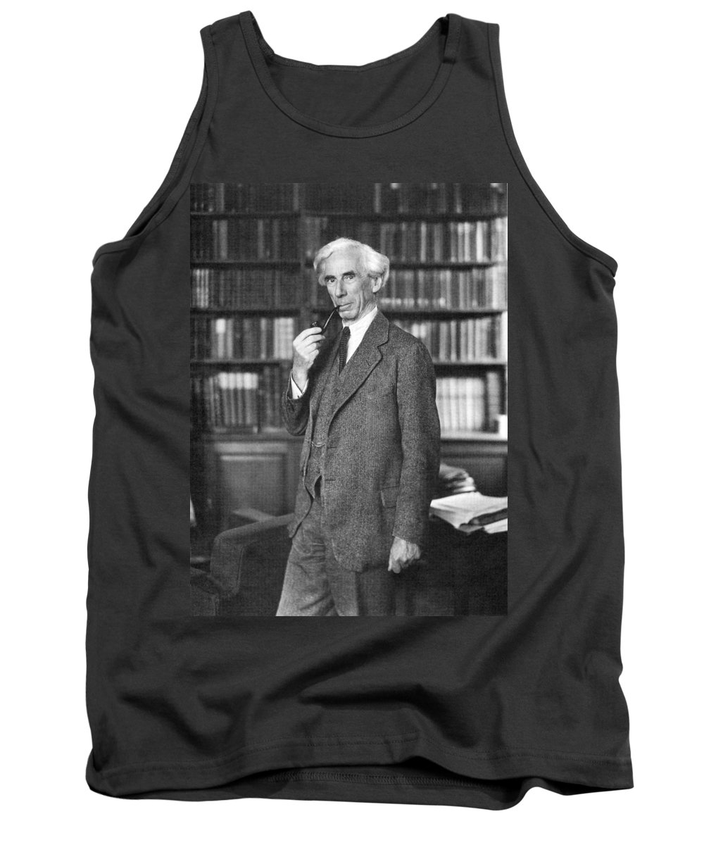 1935 Tank Top featuring the photograph Bertrand Russell by Granger
