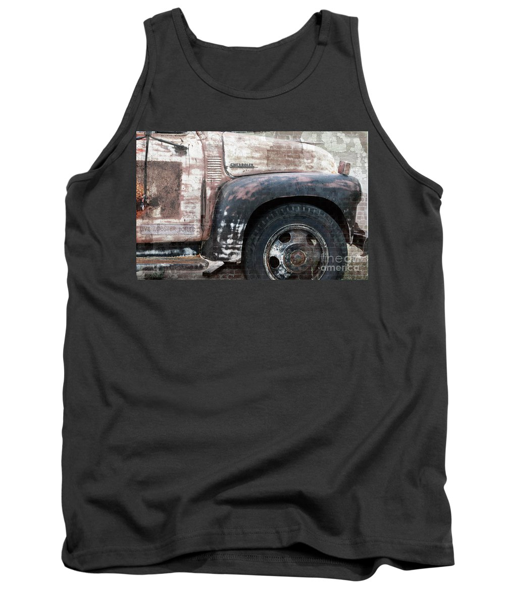 Antique Tank Top featuring the photograph Better Days by Betty LaRue