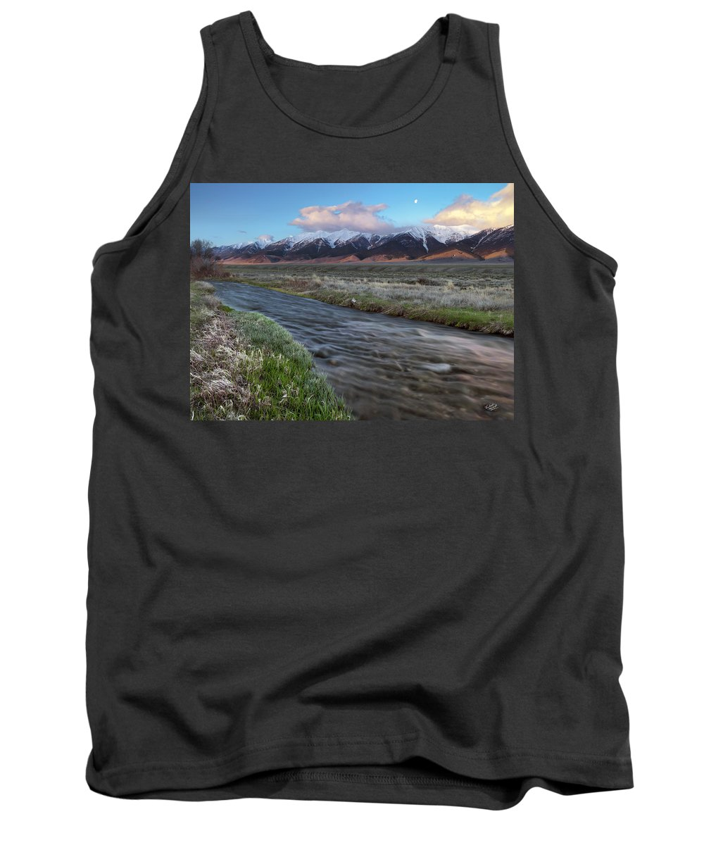 Beautiful Tank Top featuring the photograph Birch Creek Sunrise by Leland D Howard