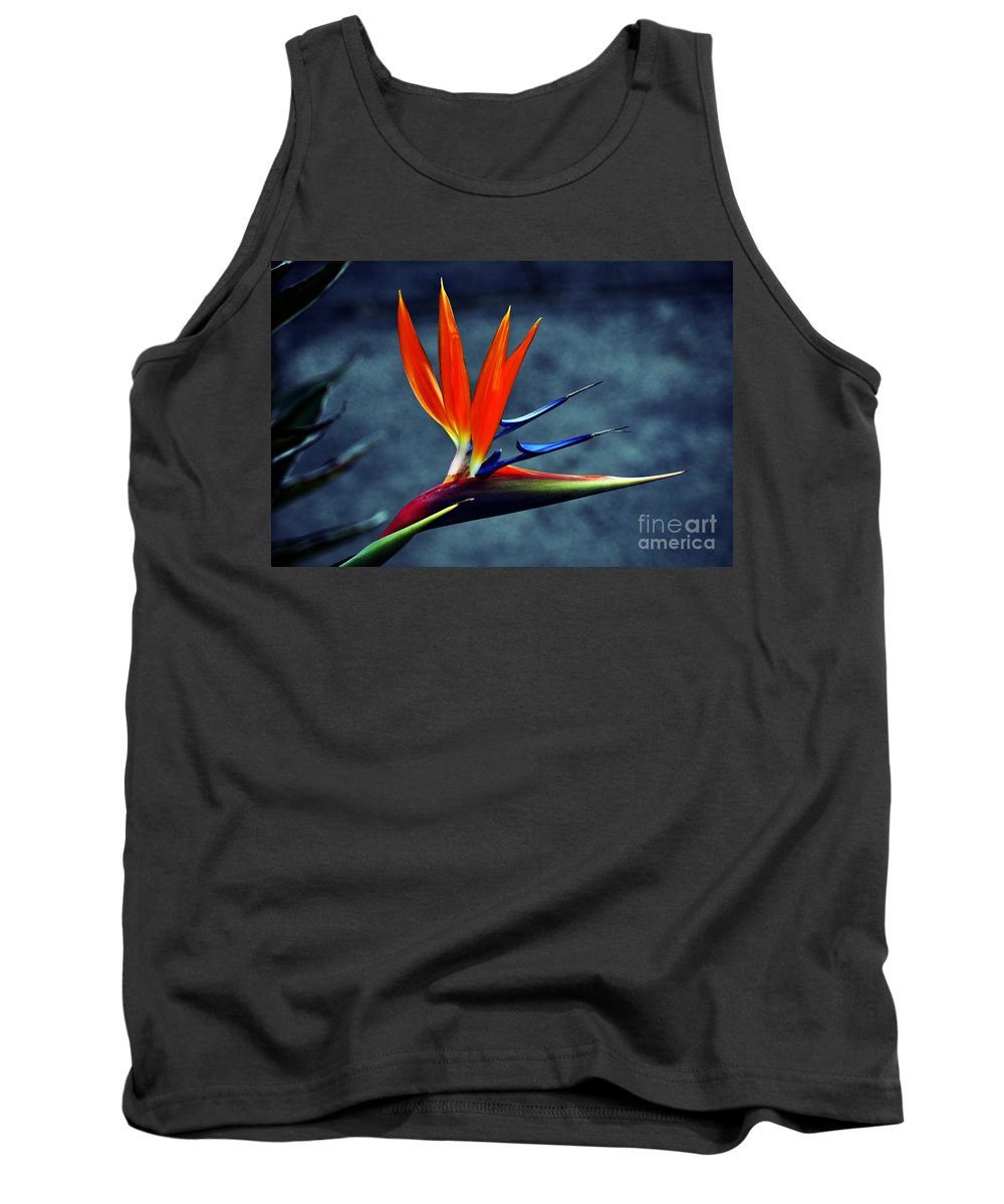 Clay Tank Top featuring the photograph Bird Of Paradise by Clayton Bruster