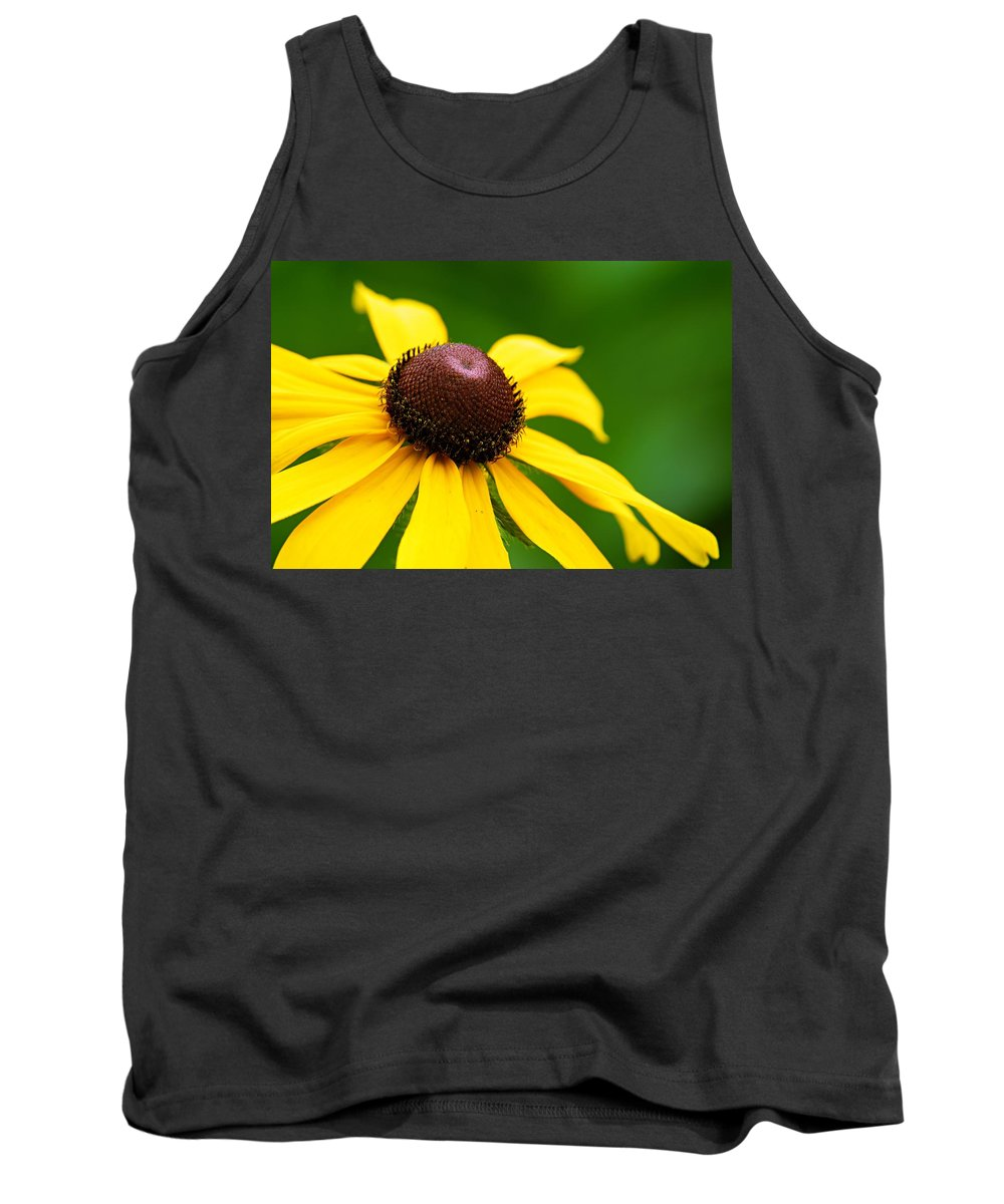 Black Eyed Susan Tank Top featuring the photograph Black-eyed Susan by Larry Ricker