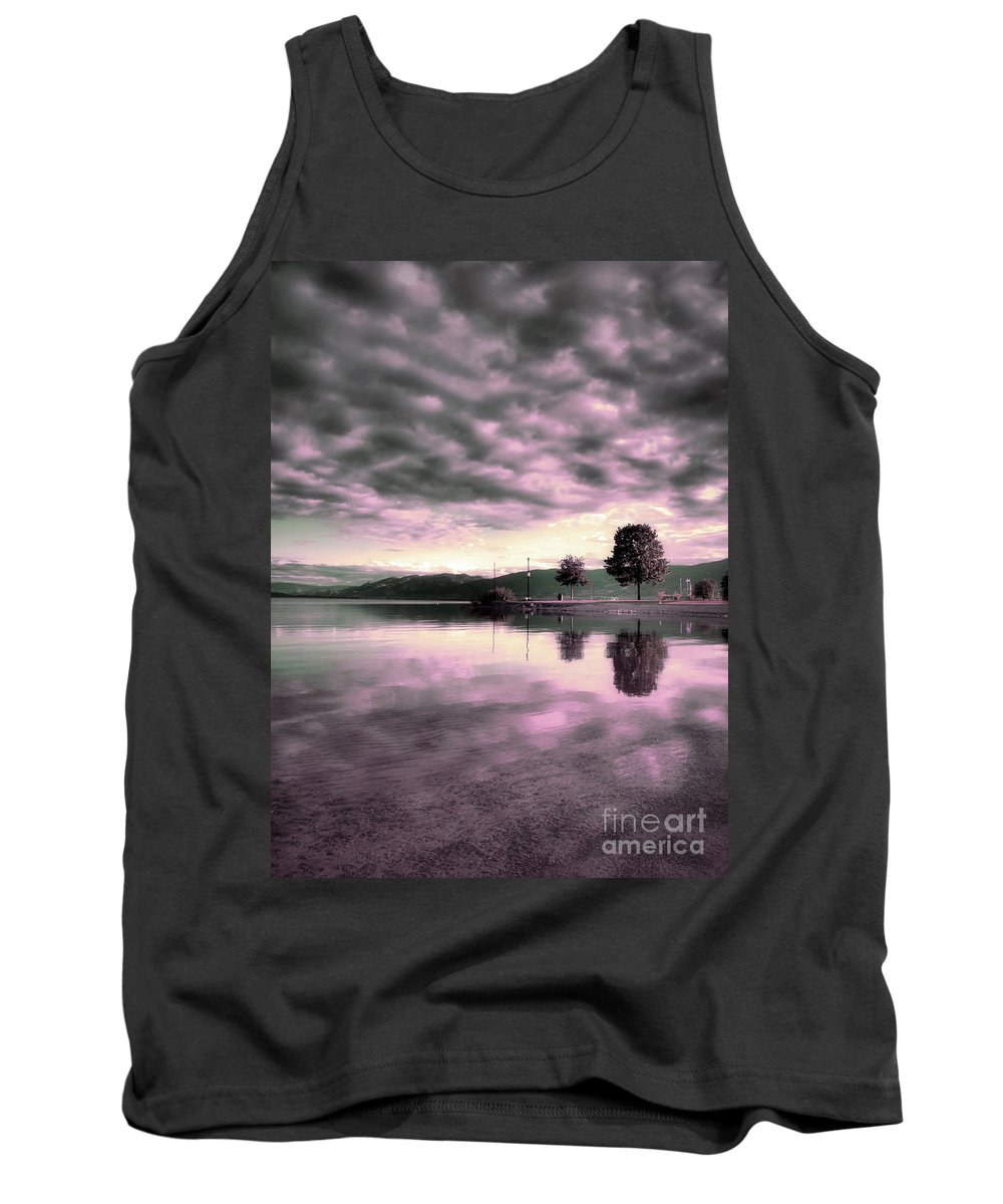Clouds Tank Top featuring the photograph Blanketed by Tara Turner