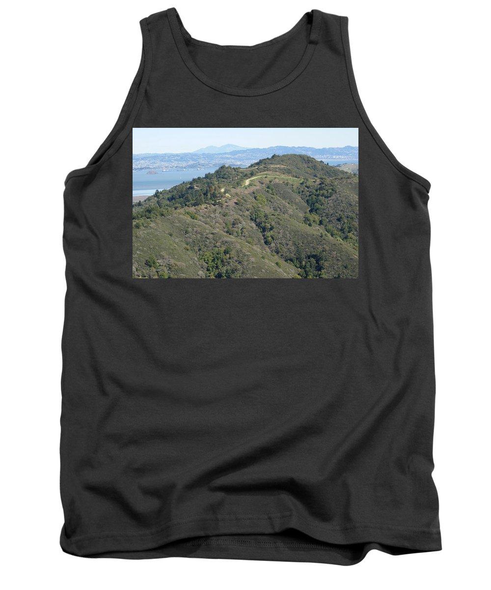 Mount Tamalpais Tank Top featuring the photograph Blithedale Ridge On Mount Tamalpais by Ben Upham III