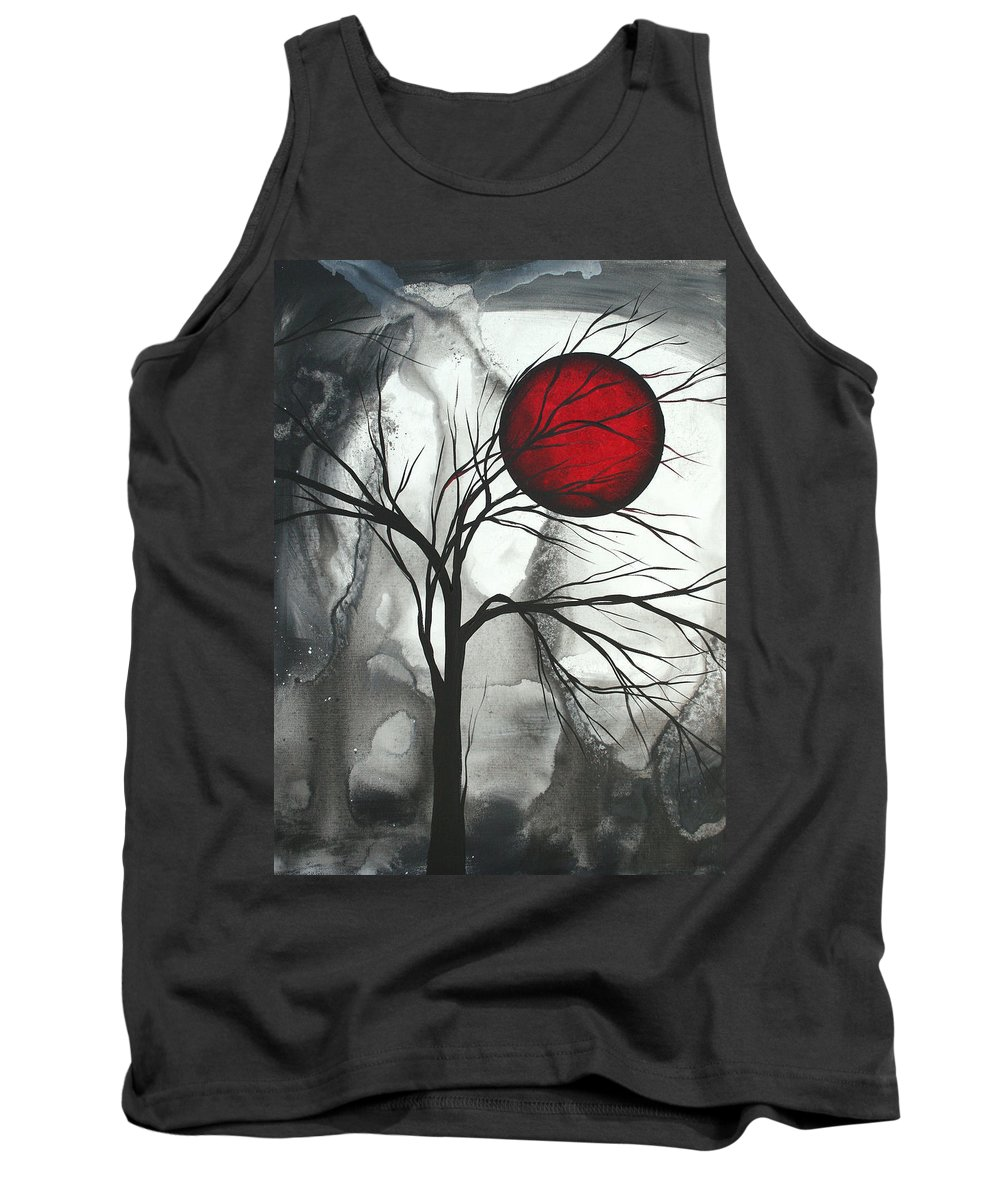 Huge Tank Top featuring the painting Blood Of The Moon 2 By Madart by Megan Duncanson
