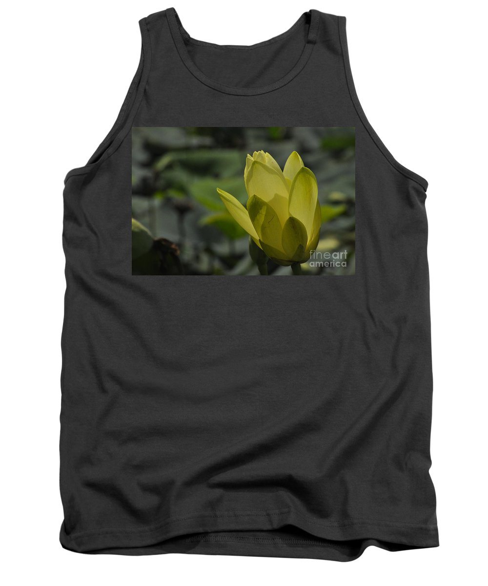 Lily Pad Tank Top featuring the photograph Bloom by Vicky Tubb