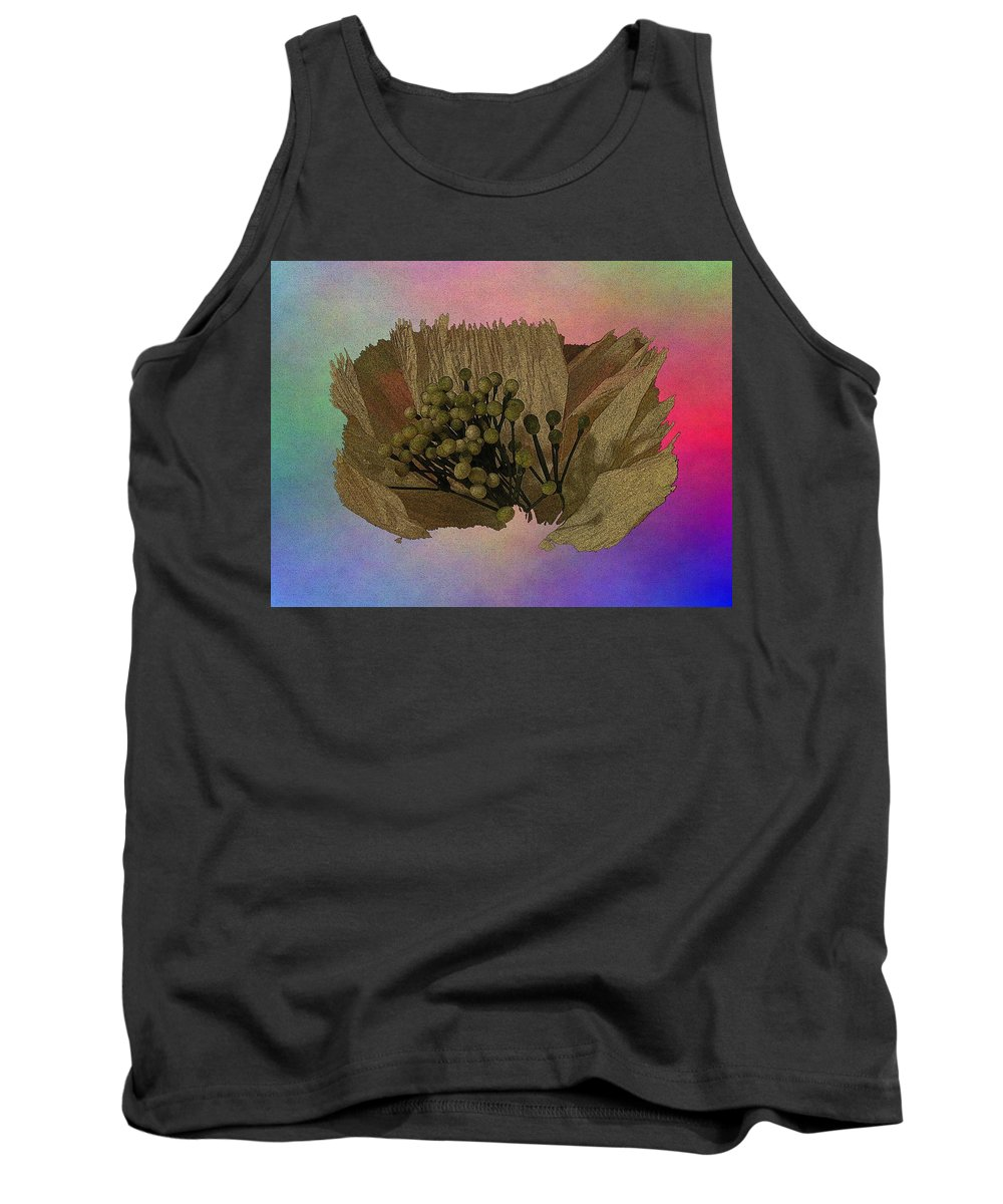 Abstract Tank Top featuring the digital art Blooming 2 by Tim Allen
