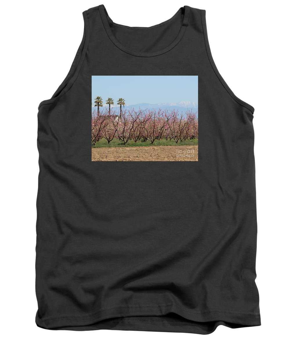 Blossom Trail Tank Top featuring the photograph Blossom Trail 1 by Marta Robin Gaughen