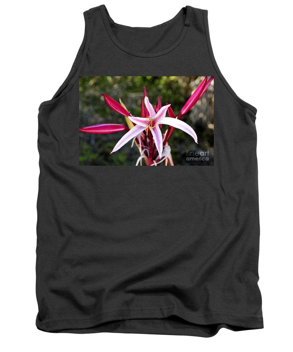 Blossom Tank Top featuring the photograph Blossoming Beauty by David Lee Thompson