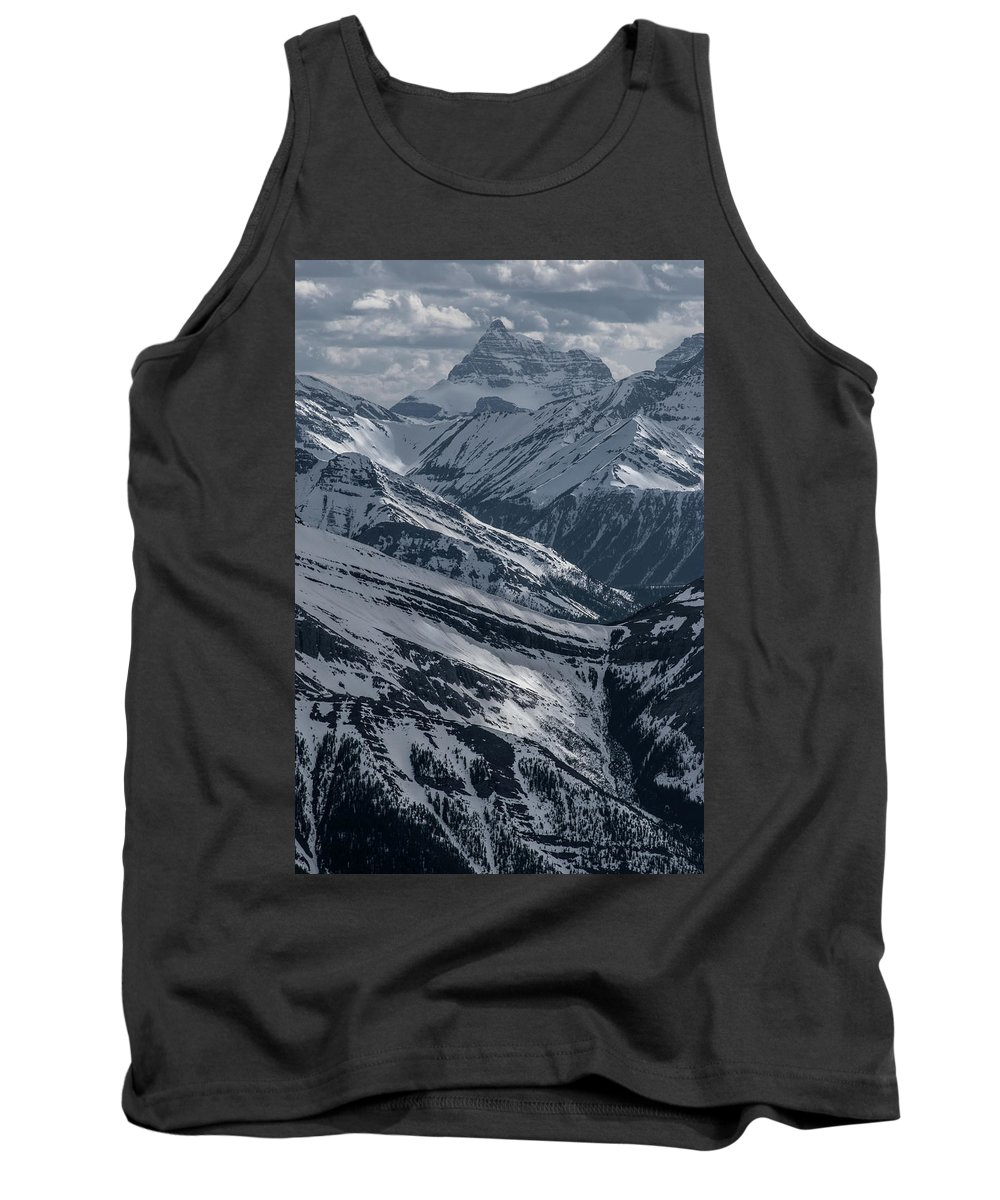 Canada Tank Top featuring the photograph Blue Rockies by Martin Capek