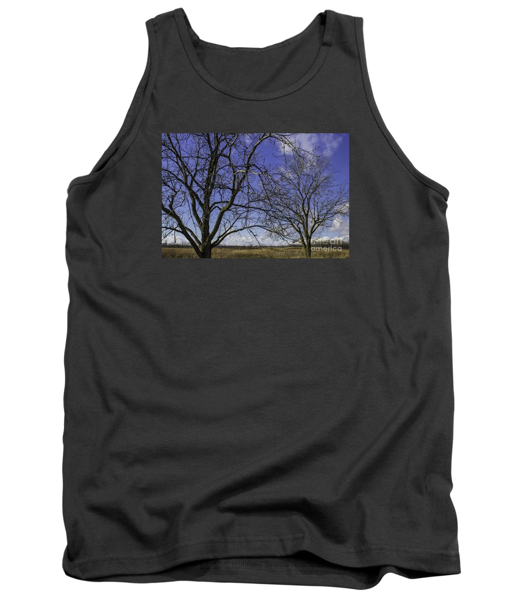 Blue Tank Top featuring the photograph Blue Sky December by Doug Daniels