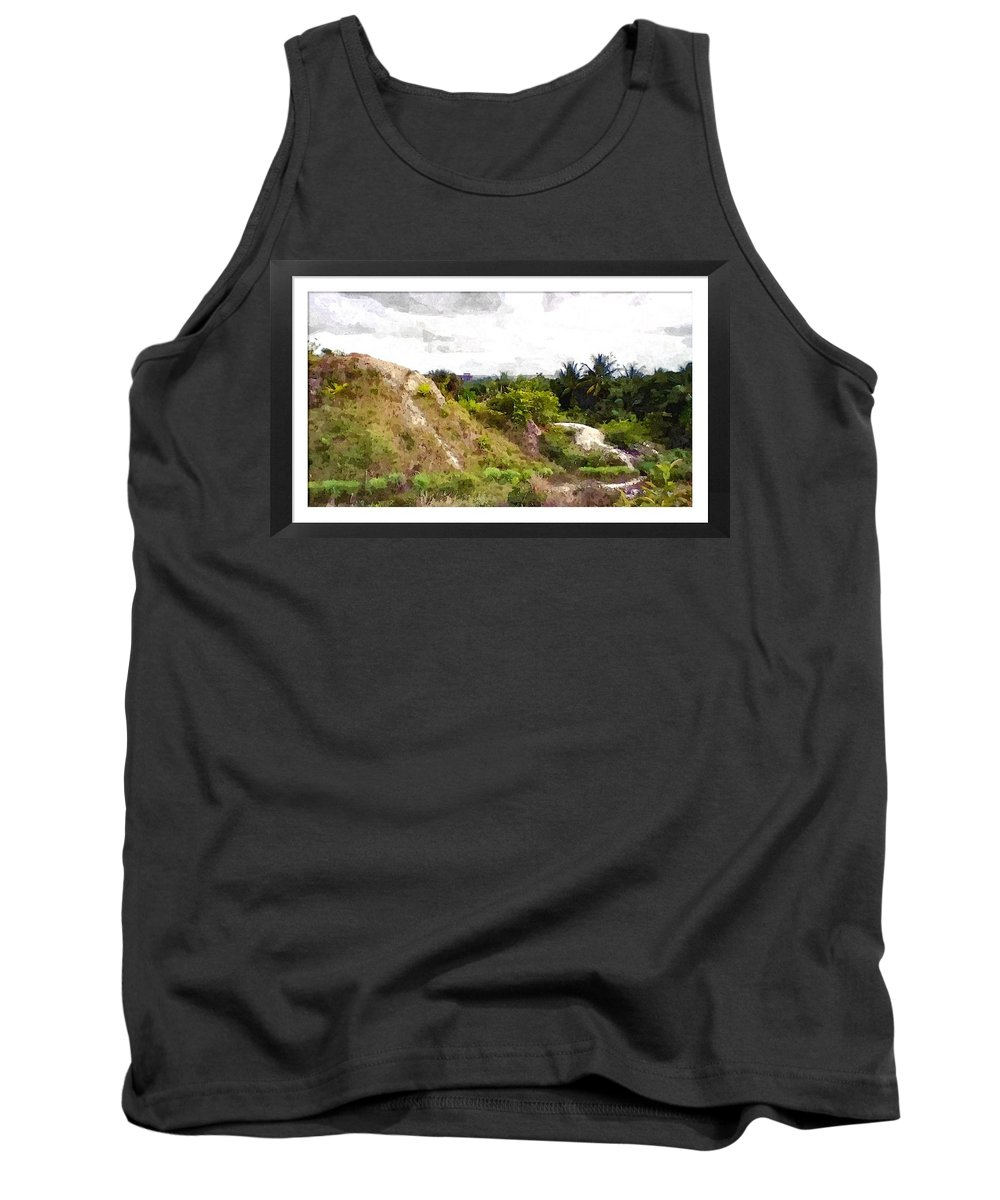 Hilltops Tank Top featuring the photograph Blueberry Hill by Alcesa Grenville