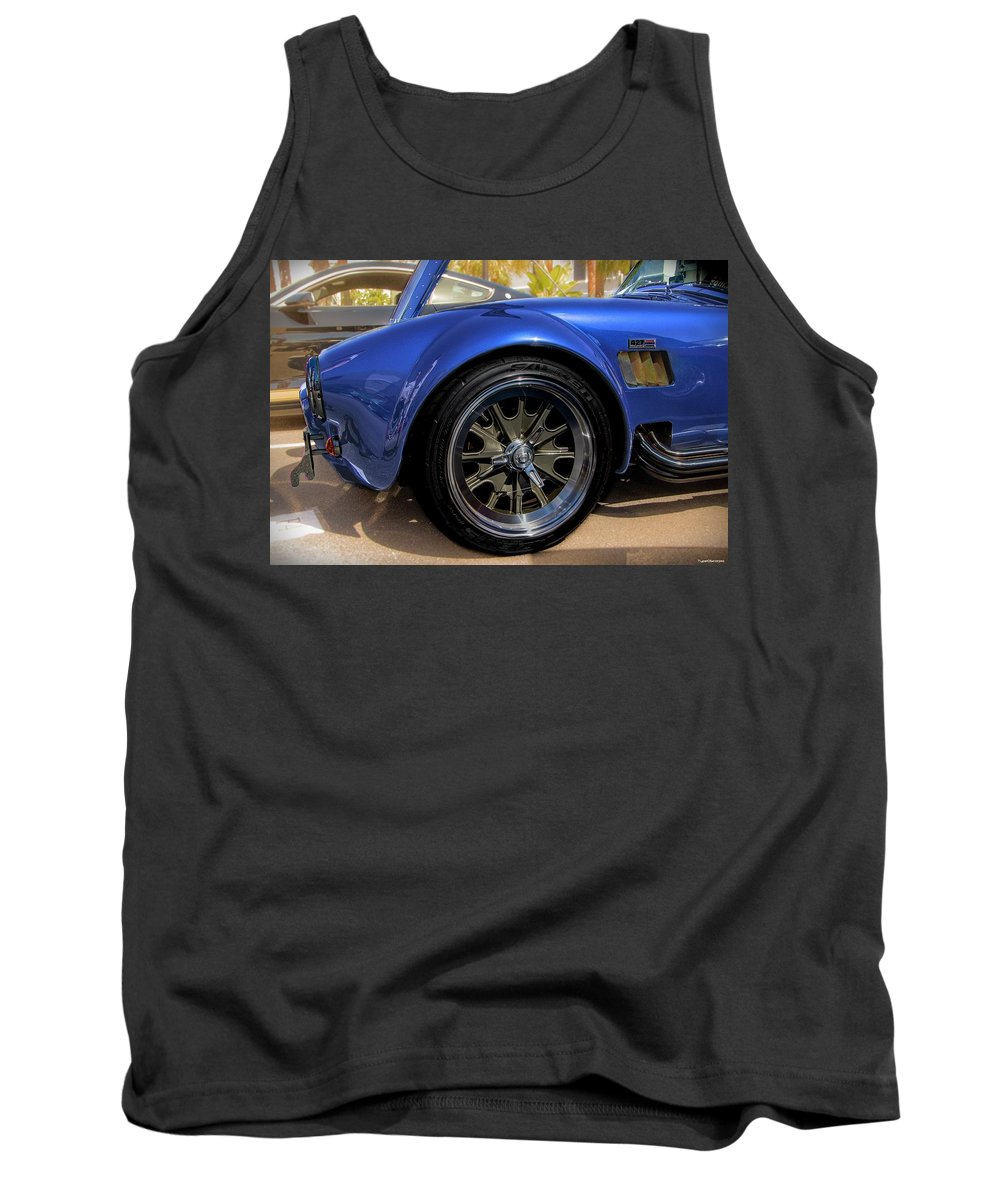 427 Tank Top featuring the photograph Blur 427 Cobra by James Markey