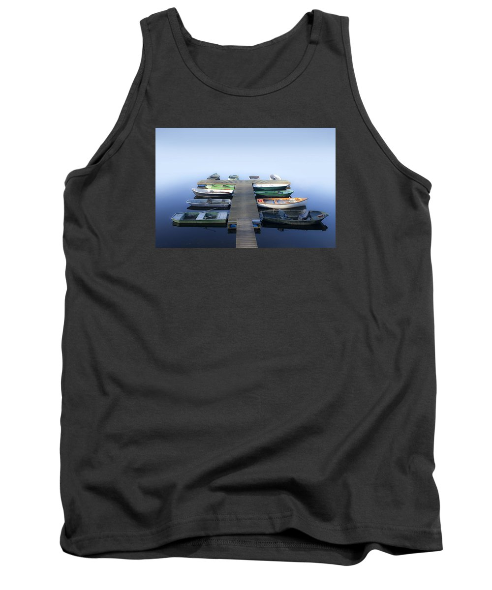 Boat Tank Top featuring the photograph Boats by FL collection