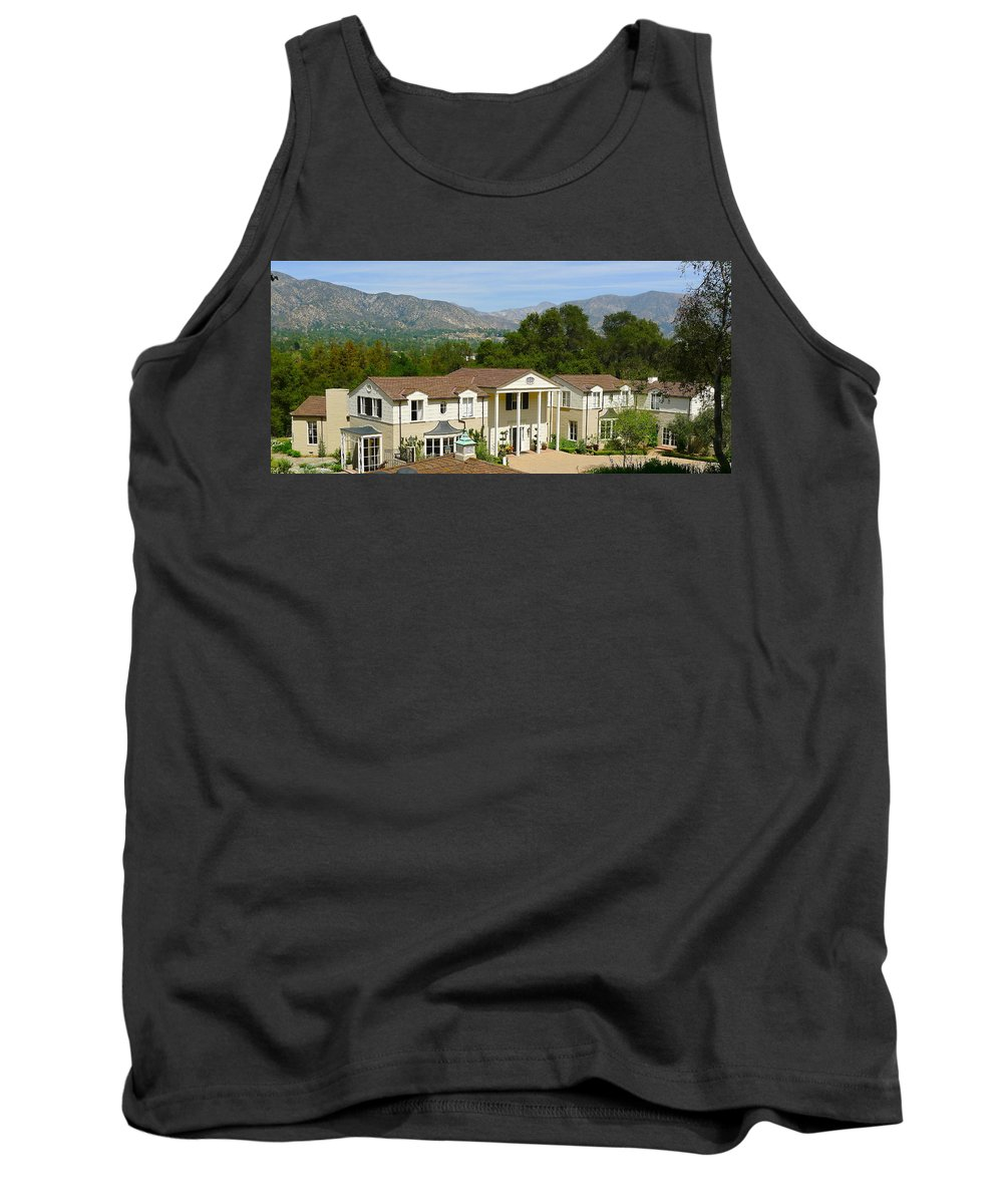 Boggy House Tank Top featuring the photograph Boddy House by Denise Mazzocco