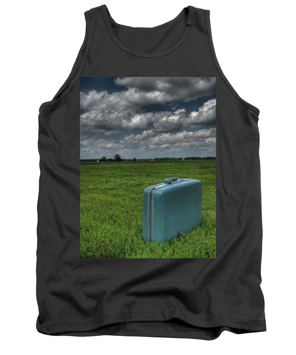 Bon Voyage Tank Top featuring the photograph Bon Voyage by Jane Linders