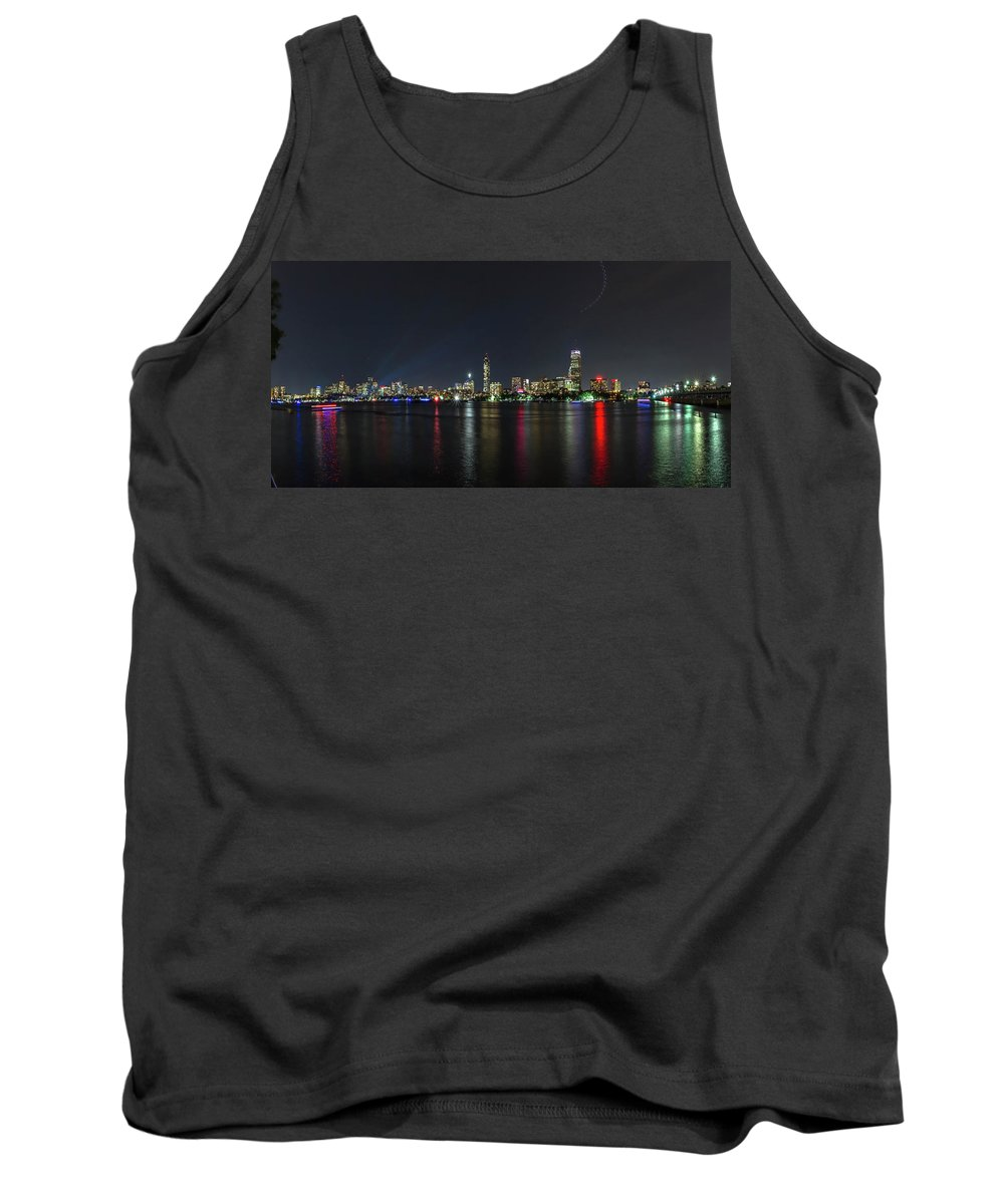 Boston Ma Tank Top featuring the photograph Boston Skyline by Larry Richardson