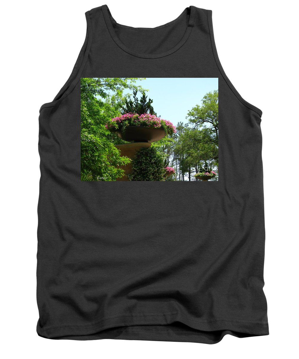 Patzer Tank Top featuring the photograph Botanical Sky by Greg Patzer