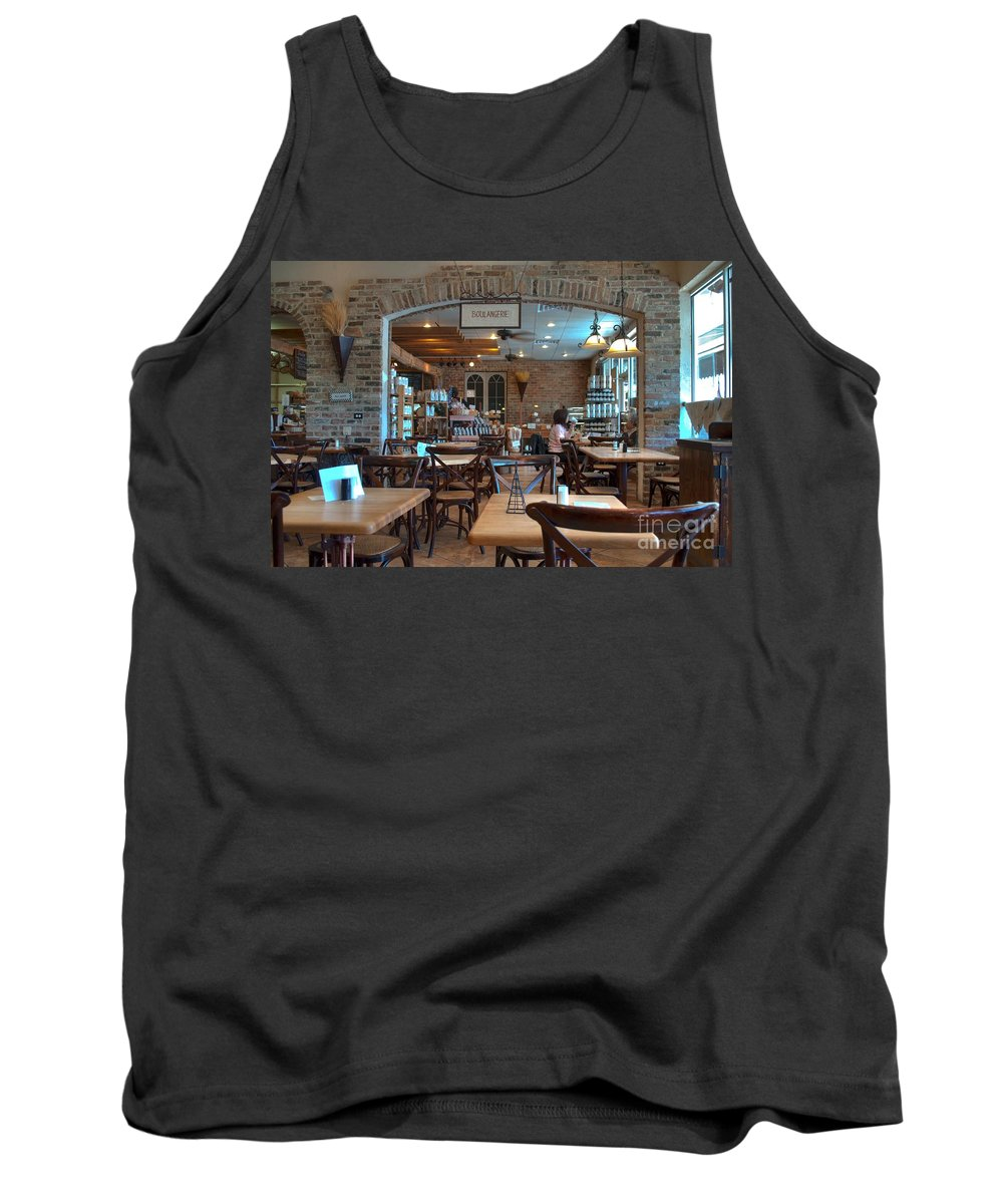 Boulangerie Tank Top featuring the photograph Boulangerie by Paulette B Wright