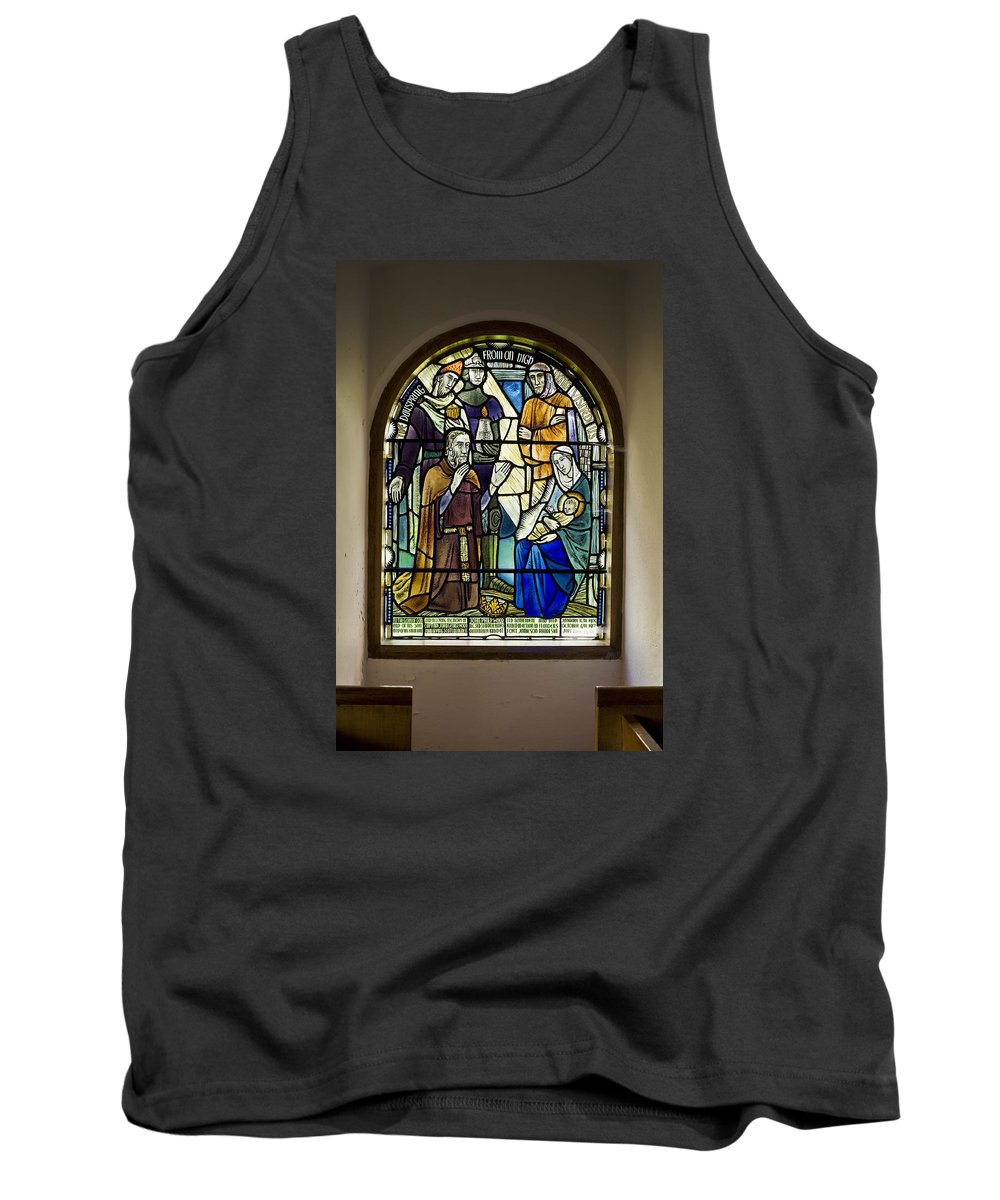 Architecture Tank Top featuring the photograph Bowden Kirk by David Taylor