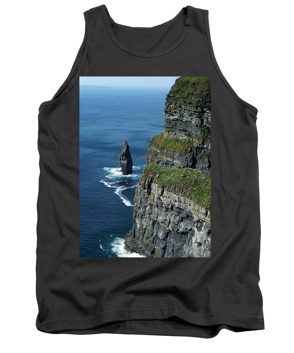 Irish Tank Top featuring the photograph Brananmore Cliffs Of Moher Ireland by Teresa Mucha