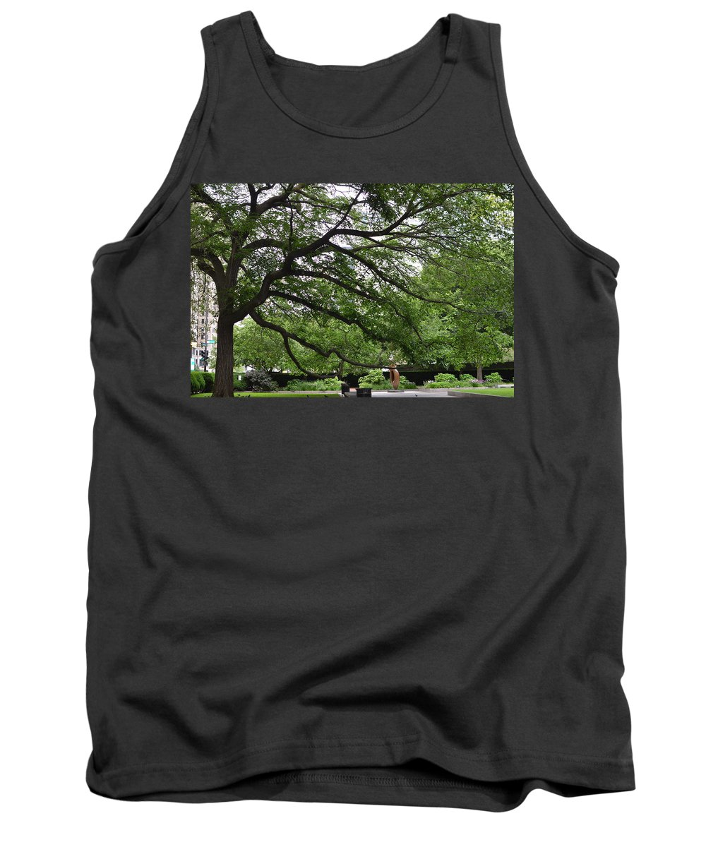 Art Institute Of Chicago Tank Top featuring the photograph Branching Out by Tammy Mutka
