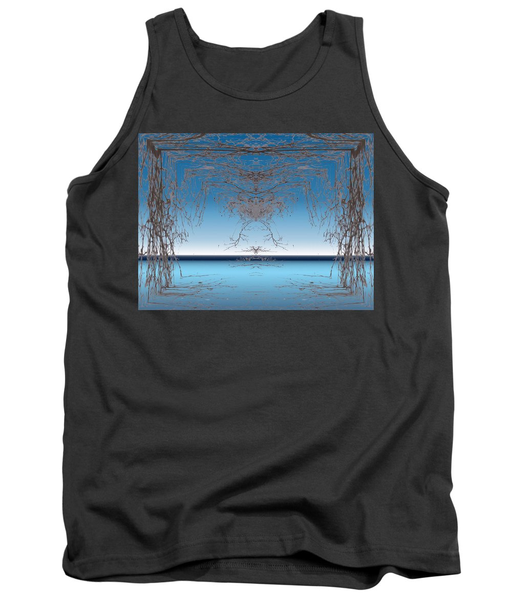 Branches Tank Top featuring the photograph Branching Outward by Tim Allen