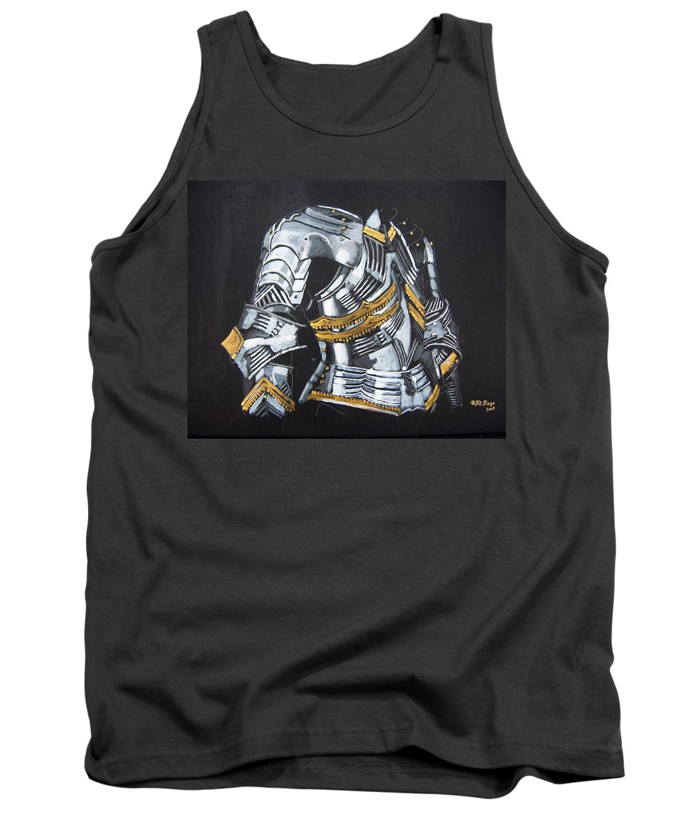 Breast Plate Tank Top featuring the painting Breast Plate by Richard Le Page
