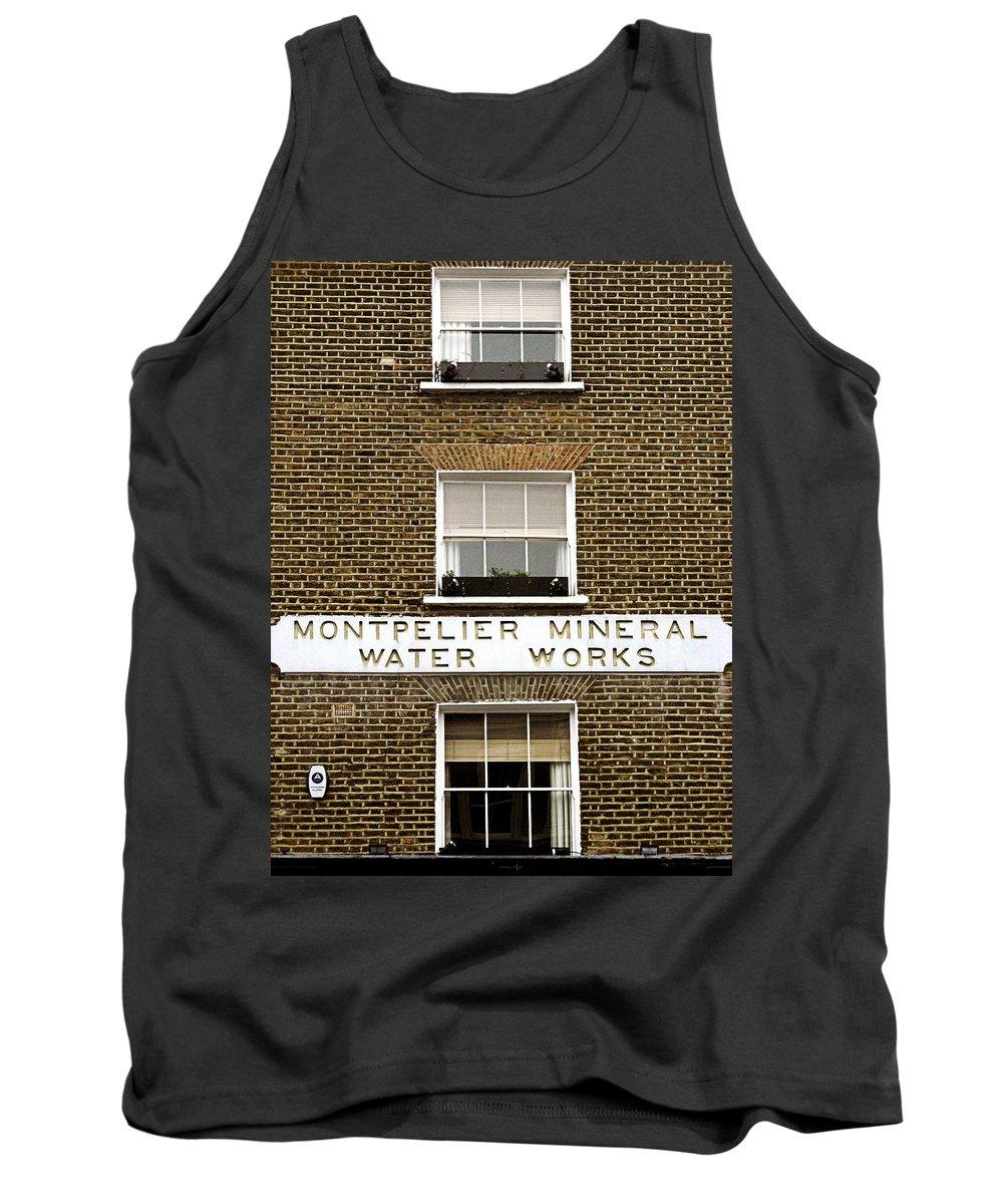 London Tank Top featuring the photograph Brick by Osvaldo Hamer