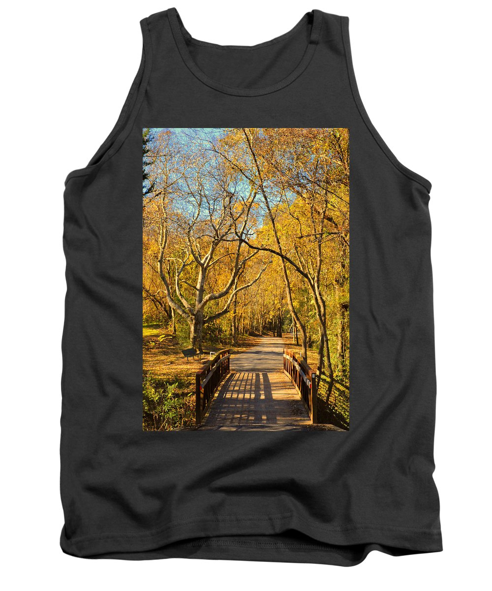 Trail Tank Top featuring the photograph Bridge Of Sighs by Stephen Anderson